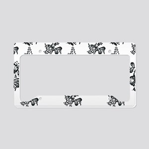 Audrey's Sabrina Embroideries License Plate Holder
