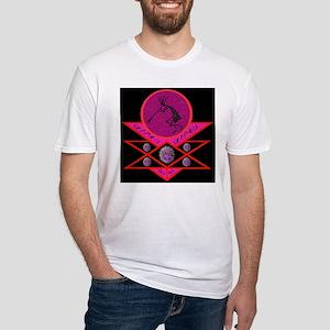Kokopelli Embracing The Spiri Fitted T-Shirt