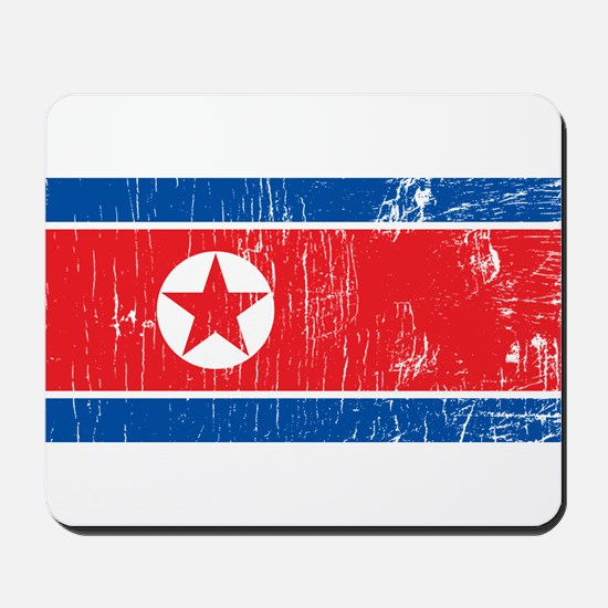 Vintage North Korea Mousepad