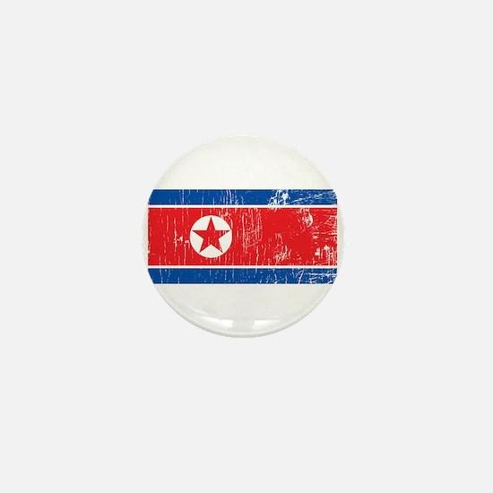 Vintage North Korea Mini Button