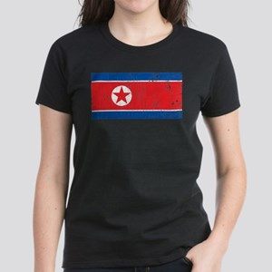Vintage North Korea Women's Dark T-Shirt