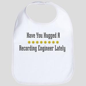 Hugged Recording Engineer Bib