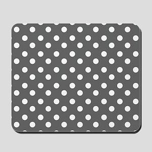 polka dots pattern Mousepad