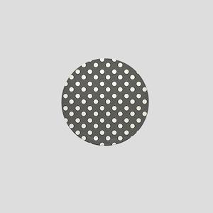 polka dots pattern Mini Button