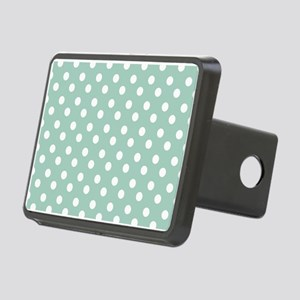 polka dots pattern Rectangular Hitch Cover