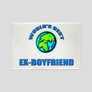 World's Best EX-BOYFRIEND Rectangle Magnet