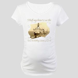 USS Whidbey Island (LSD 41) Maternity T-Shirt
