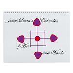 Judith Laura's Wall Calendar of Art and Words