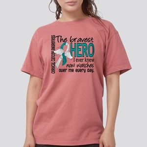 Bravest Hero I Knew Cervical Cancer T-Shirt