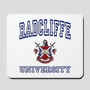 RADCLIFFE University Mousepad