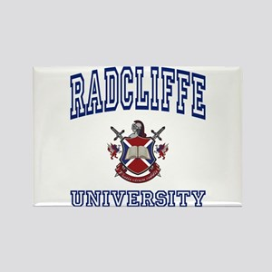 RADCLIFFE University Rectangle Magnet