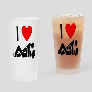 I love Sex Drinking Glass