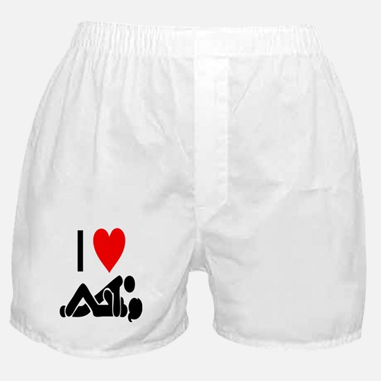 I love Sex Boxer Shorts