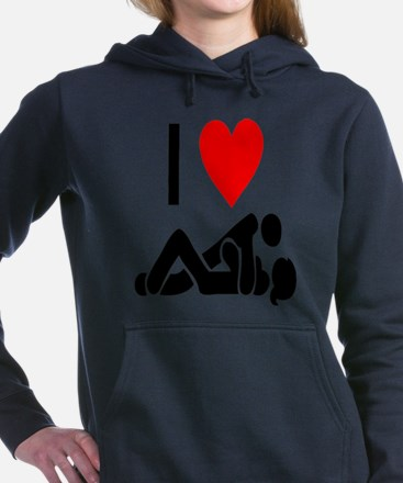 I love Sex Women's Hooded Sweatshirt