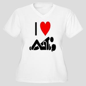 I love Sex Plus Size T-Shirt