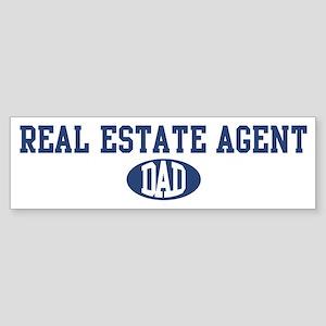 Real Estate Agent dad Bumper Sticker