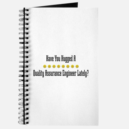 Hugged Quality Assurance Engineer Journal