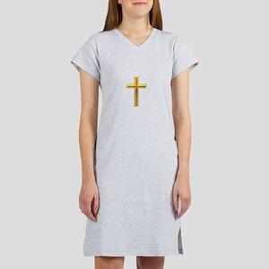 Golden Cross 2 Women's Nightshirt