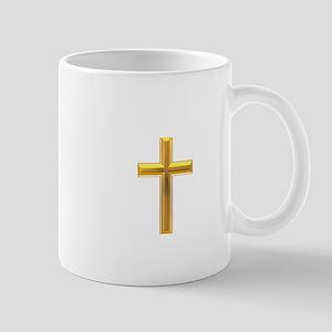 Golden Cross 2 Mug
