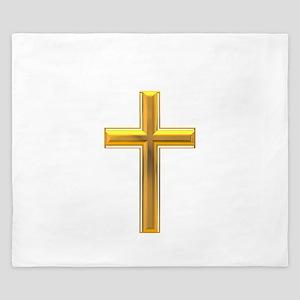 Golden Cross 2 King Duvet