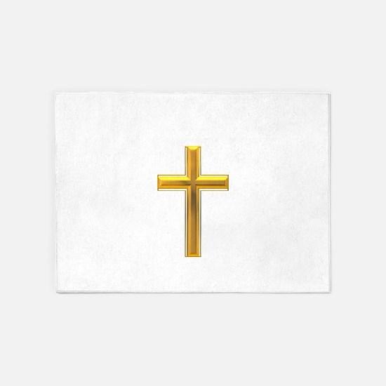 Golden Cross 2 5'x7'Area Rug