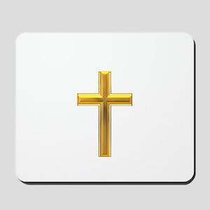 Golden Cross 2 Mousepad