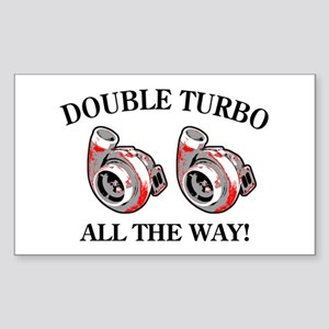 Double_turbo Copy Sticker