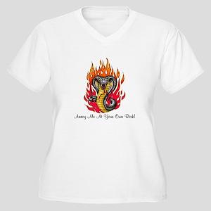 Annoy me Women's Plus Size V-Neck T-Shirt