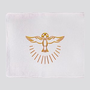 Ascent of The Holy Spirit Throw Blanket