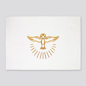 Ascent of The Holy Spirit 5'x7'Area Rug