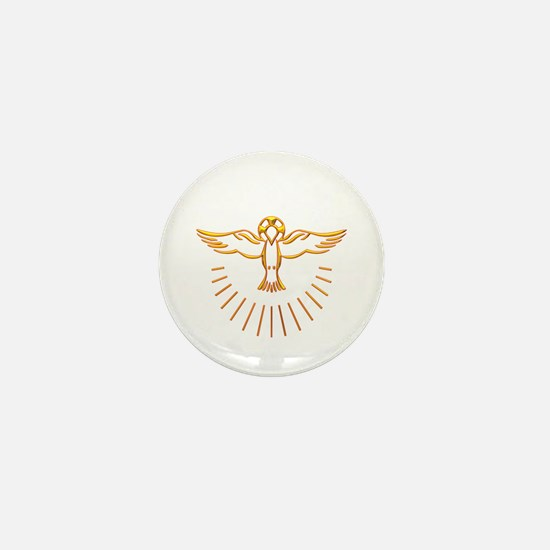 Ascent of The Holy Spirit Mini Button