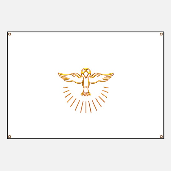 Ascent of The Holy Spirit Banner