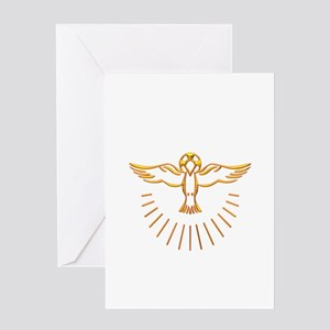 Ascent of The Holy Spirit Greeting Card
