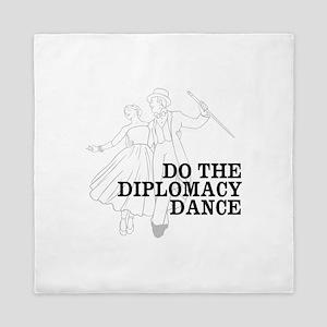 Do the Diplomacy Dance Queen Duvet