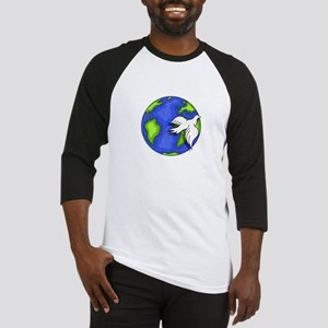 imagine_world_life_peace_dark Baseball Jersey