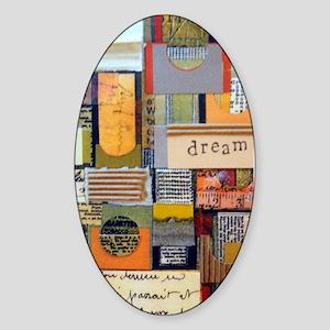 Dream Collage Sticker (Oval)