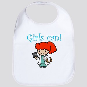 Girl Doctor Bib