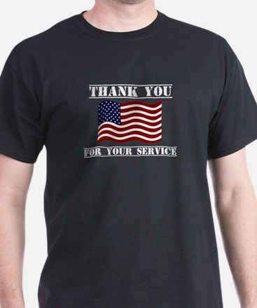 Thank You For Your Service Veterans Day Sh T-Shirt