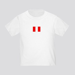 peru flag Toddler T-Shirt
