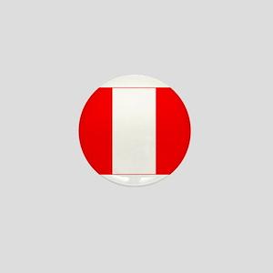 peru flag Mini Button