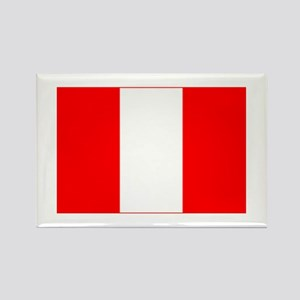 peru flag Rectangle Magnet