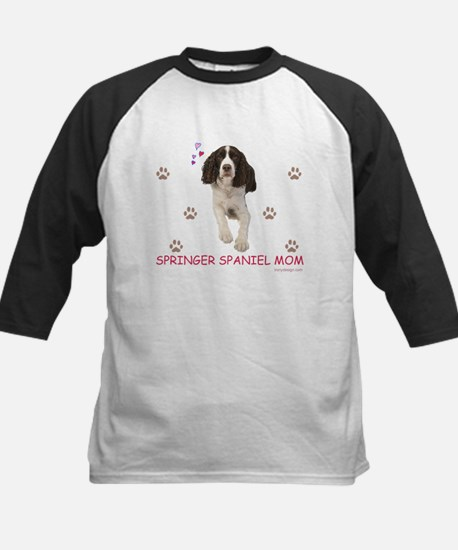 Springer Spaniel Mom Baseball Jersey