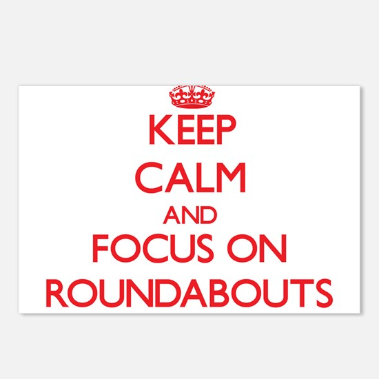 Cute Roundabouts Postcards (Package of 8)