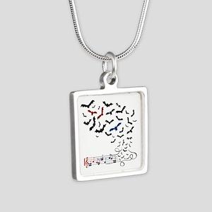 Bat Music Design Necklaces