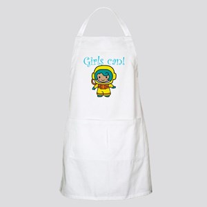 Girl Astronaut BBQ Apron