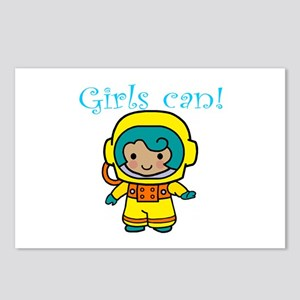 Girl Astronaut Postcards (Package of 8)