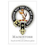 Clan Mackintosh Large Poster