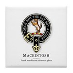 Clan Mackintosh Tile Coaster