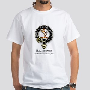 Clan Mackintosh White T-Shirt
