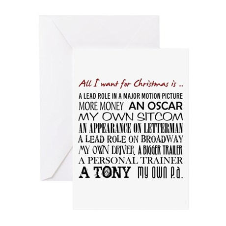 All I Want ... Greeting Cards (Pk of 10)